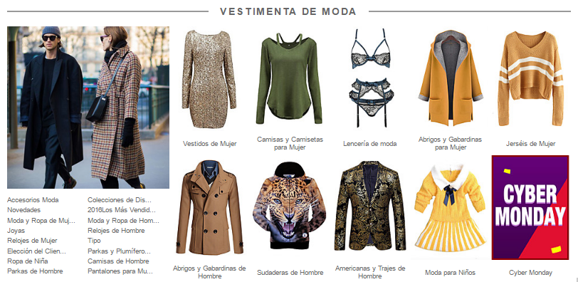 Moda en Light In The Box