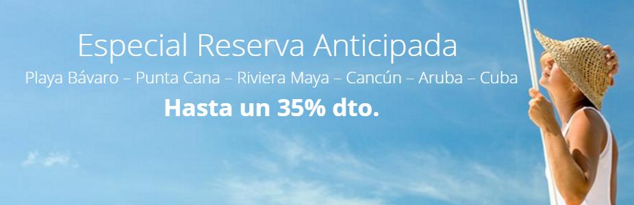 Reservas Anticipadas Barceló Hoteles