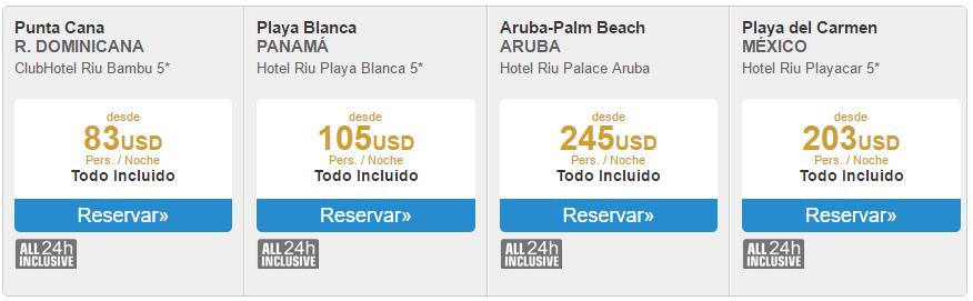 Ofertas Riu Hoteles