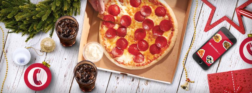 Pizza y mucho más al mejor precio en Domicilios.com