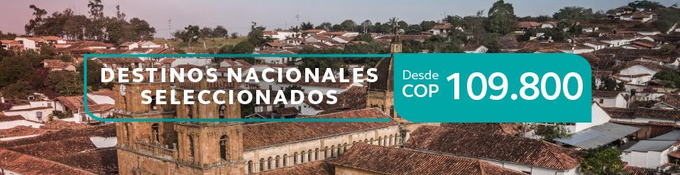 Viaja por Colombia en Avianca
