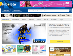 Código Promocional Tuboleta 2019